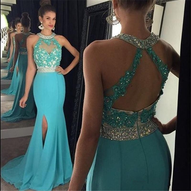Sexy turquoise dresses plus size